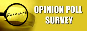 Opinion poll survey